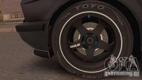 BMW 525i E34 2.0 для GTA San Andreas вид сзади слева