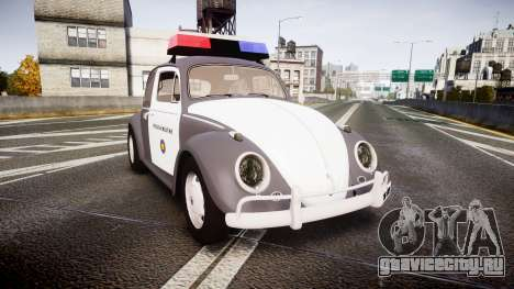 Volkswagen Fusca 1980 Military Police Sao Paulo для GTA 4