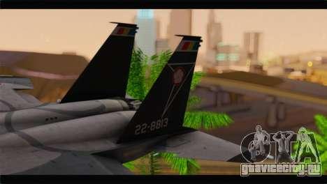 F-15J Hyakuri Air Base 30th Anniversary для GTA San Andreas вид сзади слева