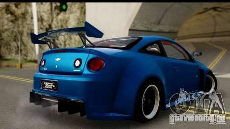 Chevrolet Cobalt SS Mio Itasha для GTA San Andreas вид слева