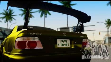 Toyota Chaser Tourer V Fail Crew для GTA San Andreas вид справа