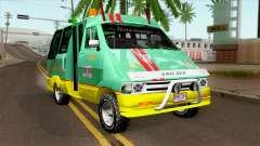 Toyota Microbus v2 для GTA San Andreas