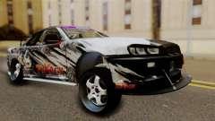 Nissan Skyline GTR34 Tokage для GTA San Andreas