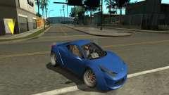 Ferrari 458 Italia купе для GTA San Andreas