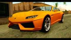 Lamborghini Estoque для GTA San Andreas