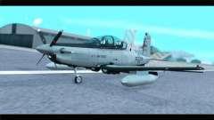 Beechcraft T-6 Texan II US Air Force 4 для GTA San Andreas