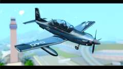 Beechcraft T-6 Texan II United States Navy 2 для GTA San Andreas