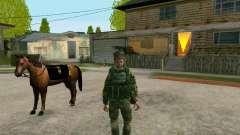 Кубанский Казак для GTA San Andreas