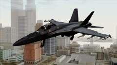 FA-18 HARV для GTA San Andreas