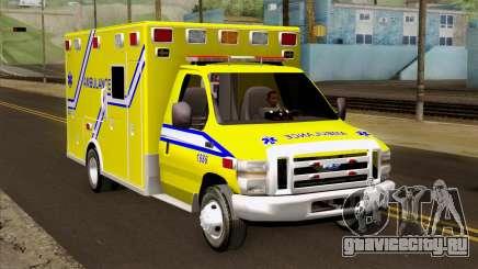 Ford F-450 2014 Quebec Ambulance для GTA San Andreas