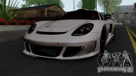 Gemballa Mirage GT v1 Windows Down для GTA San Andreas