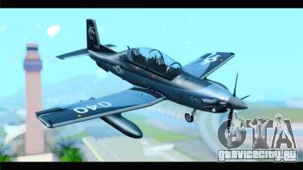Beechcraft T-6 Texan II United States Navy 2 для GTA San Andreas