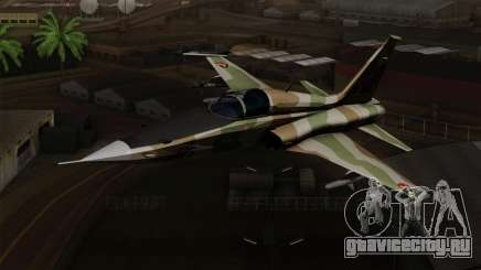 Northrop F-5 Estovakian Air Force для GTA San Andreas