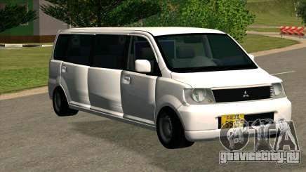Mitsubishi EK Wagon Limo для GTA San Andreas