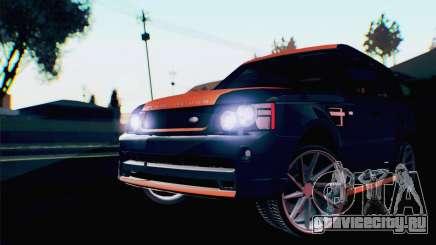 Range Rover Sport 2012 Samurai Design для GTA San Andreas