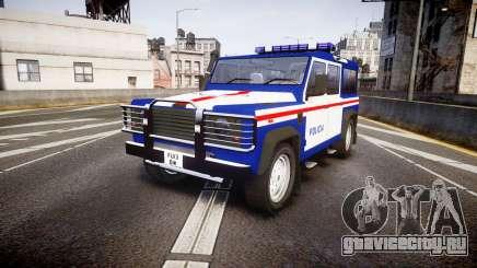 Land Rover Defender Policia PSP [ELS] для GTA 4
