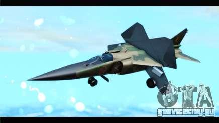 MIG-23ML Yuktobanian Air Force для GTA San Andreas