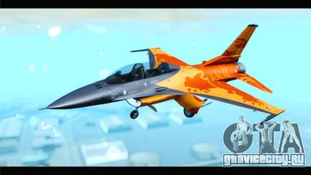 F-16D Fighting Falcon Dutch Demo Team J-015 для GTA San Andreas