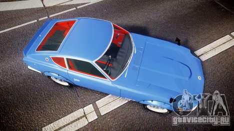 Nissan Fairlady Devil Z для GTA 4 вид справа