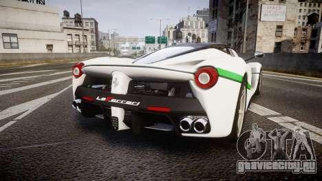 Ferrari LaFerrari 2013 HQ [EPM] PJ2 для GTA 4 вид сзади слева
