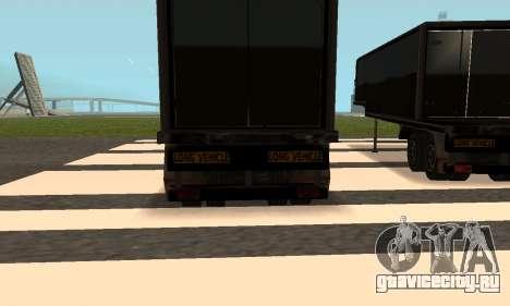 PS2 Article Trailer для GTA San Andreas вид сбоку