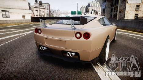 Dewbauchee Super GTO 77 для GTA 4 вид сзади слева