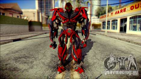Stinger Skin from Transformers для GTA San Andreas
