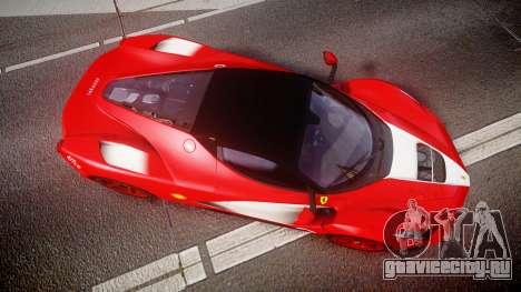 Ferrari LaFerrari 2013 HQ [EPM] PJ3 для GTA 4 вид справа