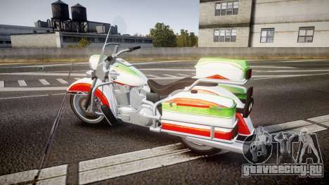 GTA V Western Motorcycle Company Sovereign IRN для GTA 4 вид слева
