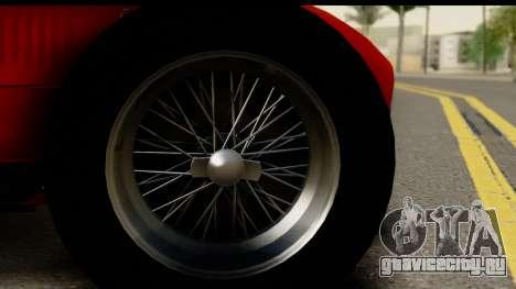 Ferrari 375 F1 для GTA San Andreas вид сзади