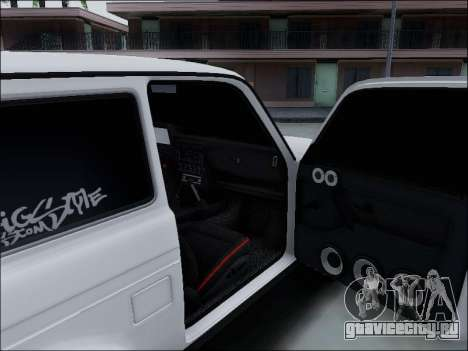 Lada Niva для GTA San Andreas салон