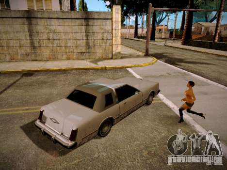 ENB Real Monsters для GTA San Andreas
