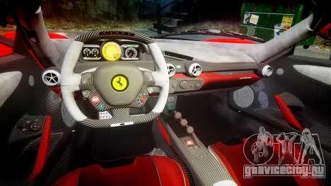 Ferrari LaFerrari 2013 HQ [EPM] PJ3 для GTA 4 вид изнутри