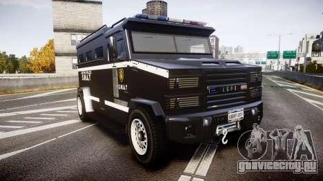 GTA V Brute Police Riot [ELS] skin 5 для GTA 4