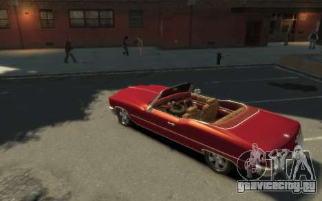 GTA 3 Yardie Lobo HD для GTA 4 вид справа