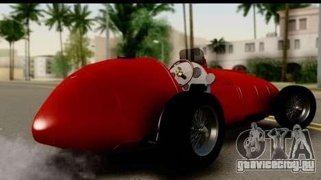 Ferrari 375 F1 для GTA San Andreas вид слева