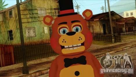 Toy Freddy from Five Nights at Freddy 2 для GTA San Andreas третий скриншот