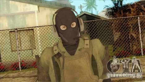 Metal Gear Solid 5: Ground Zeroes MSF v1 для GTA San Andreas третий скриншот