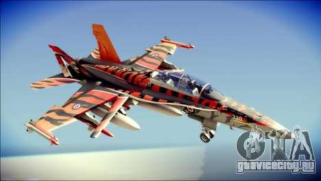 FA-18D Hornet RCAF Tigermeet для GTA San Andreas