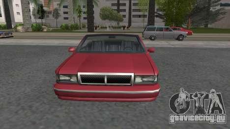 Premier Cabrio для GTA San Andreas вид справа
