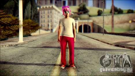 Skin Kawaiis GTA V Online v3 для GTA San Andreas