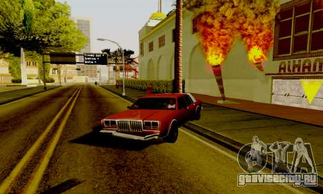 Light ENB Series v3.0 для GTA San Andreas третий скриншот