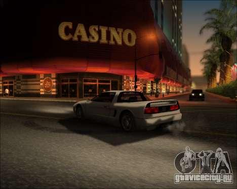 ENB Kiseki v1 для GTA San Andreas пятый скриншот