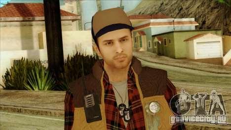 Big Rig Alex Shepherd Skin для GTA San Andreas третий скриншот