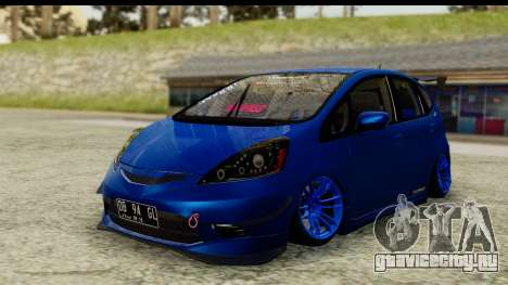 Honda Fit 2009 JDM Modification для GTA San Andreas