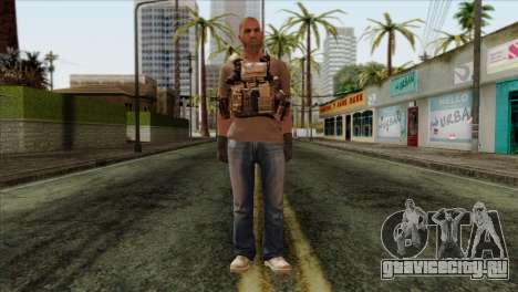 Officer from PMC для GTA San Andreas