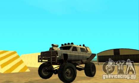 Hellish Extreme CripVoz RomeRo 2015 для GTA San Andreas вид сверху