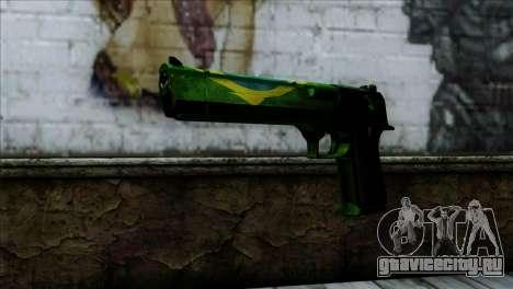 Desert Eagle Brazil для GTA San Andreas
