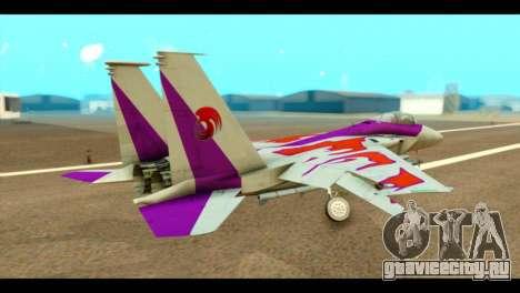 F-15C Air Combat для GTA San Andreas вид слева