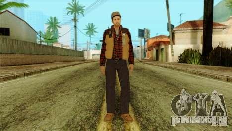 Big Rig Alex Shepherd Skin для GTA San Andreas